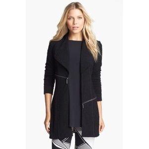 Eva Varro Pebbled Barcelona Jacket Medium Black
